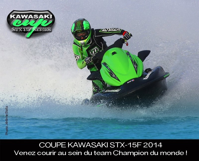 Coupe Kawasaki stx-15F 2014