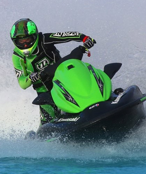 Podium jet ski