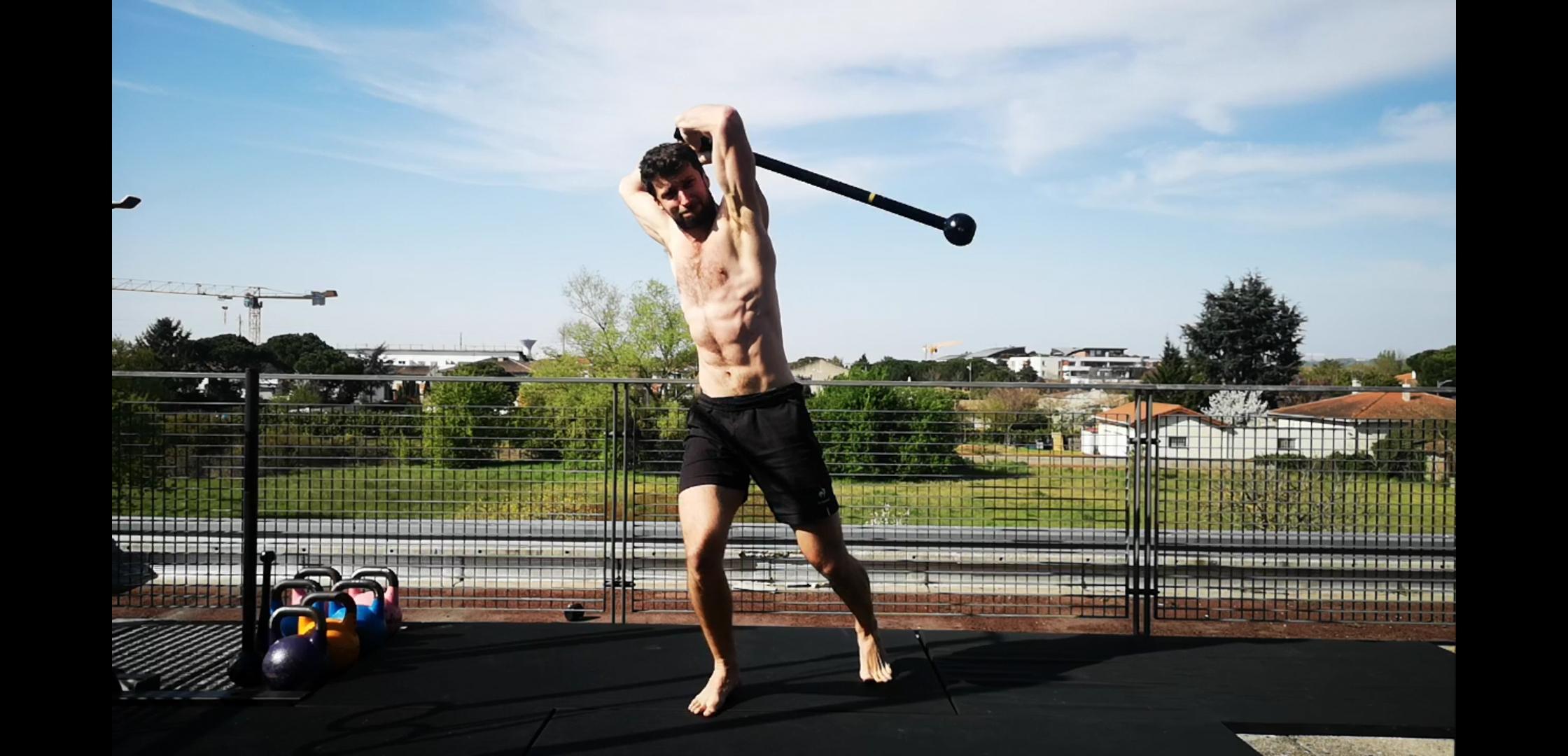 swing macebell 360